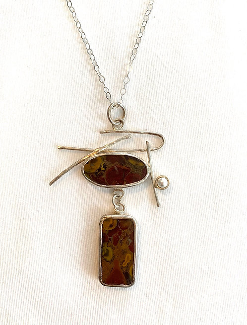 Mineral Necklace - Collage