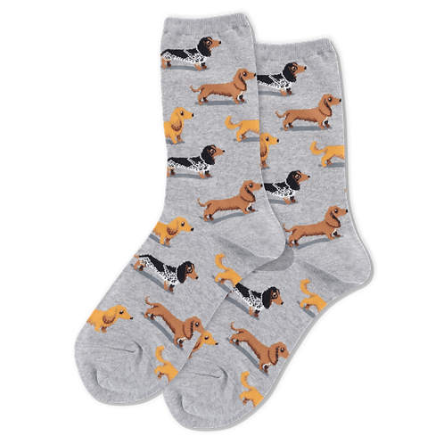 Womens Socks - Dachshunds