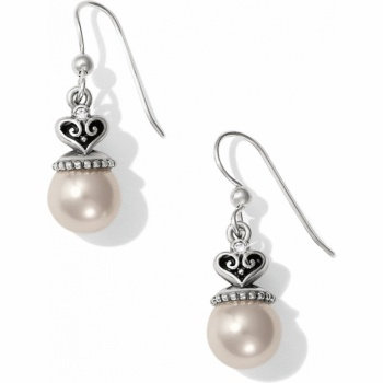 Brighton Alcazar Pearl Drop French Wire Earrings