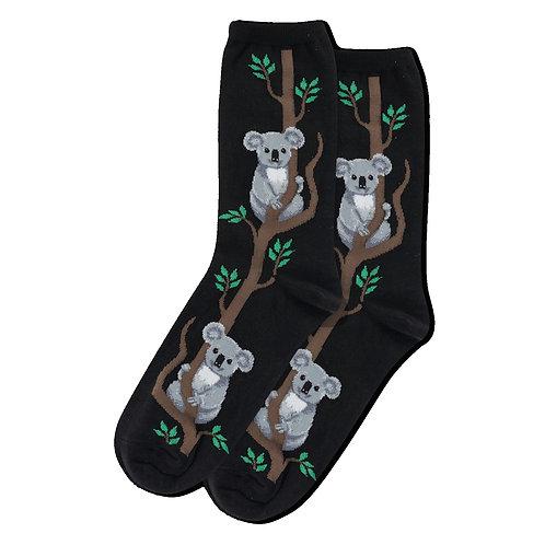 Womens Socks - Koala