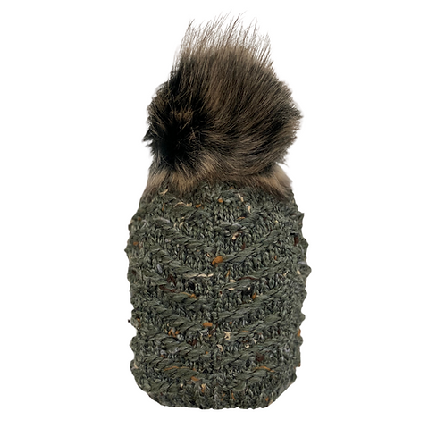 Confetti Knit Beanie in Forest