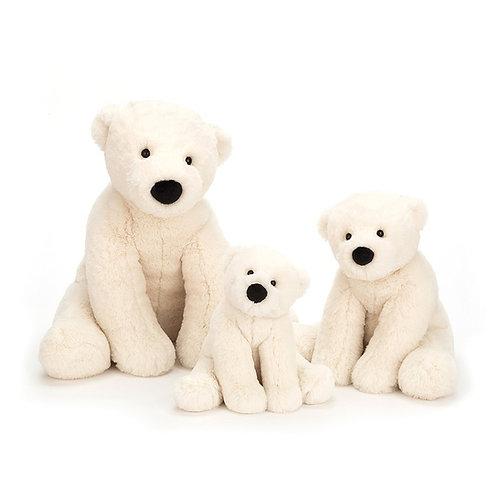 """Jellycat Perry Polar Bear - 14"""""""
