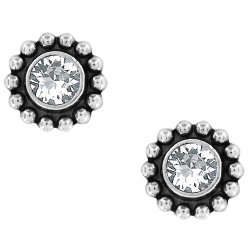 Brighton Twinkle Mini Post Earrings in Silver