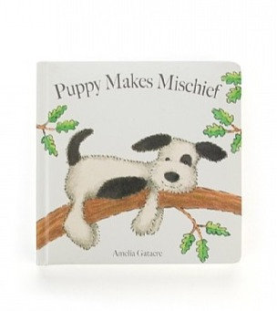 Jellycat Book - Puppy Makes Mischief
