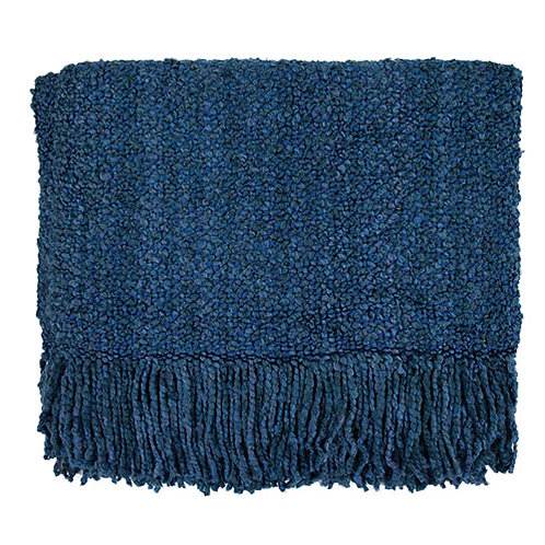 Campbell Blanket in Bristol Blue