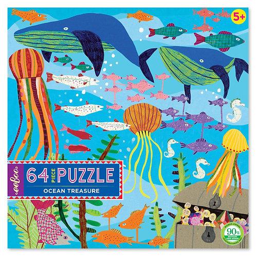 64 Piece Puzzle - Ocean Treasure