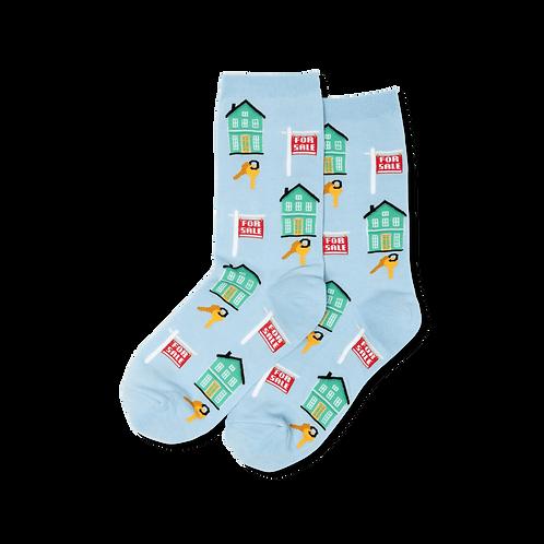 Womens Socks - Realtor