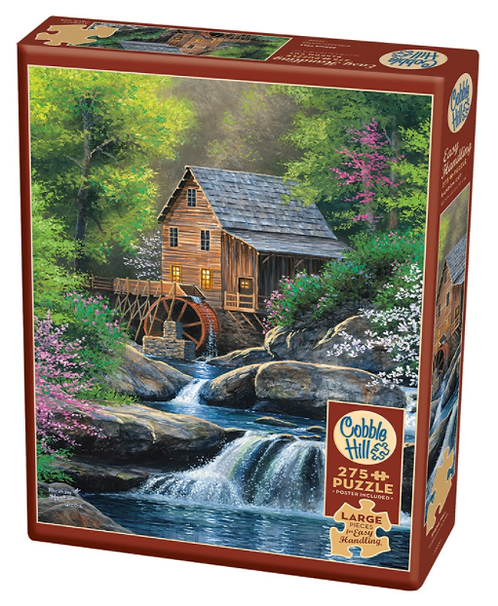 275 Piece Puzzle - Easy Handling - Spring Mill