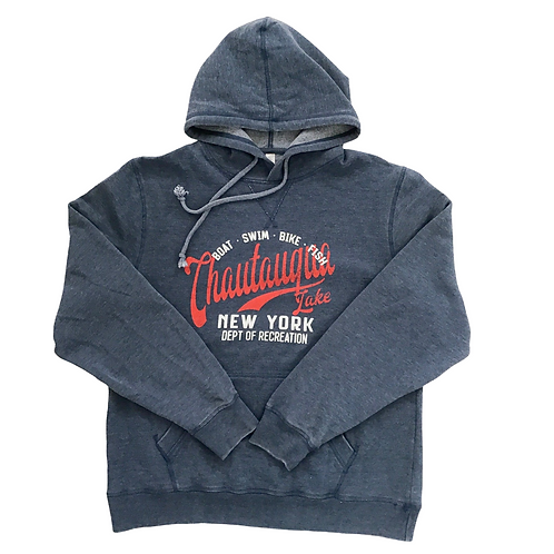 Chautauqua Lake Hoodie - Dept of Recreation