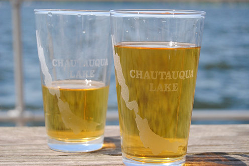 Chautauqua Lake Pint Glass