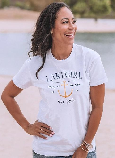 Lakegirl Always At The Lake Tee