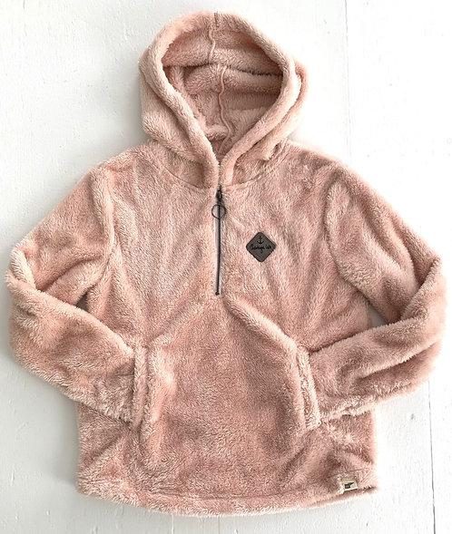 Chautauqua Lake Women's Soft Hoodie in Soft Pink