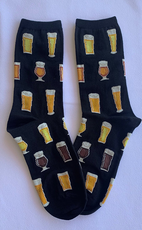 Womens Socks - Beer