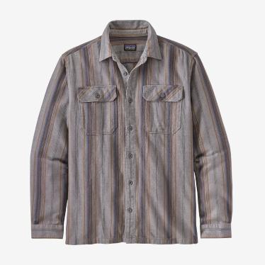 Patagonia - M's Fjord Flannel Shirt in Farm Fields/Birch White