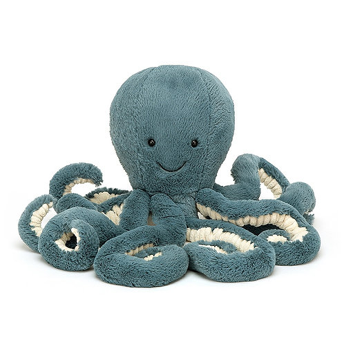 Jellycat Storm Blue Octopus - 9""
