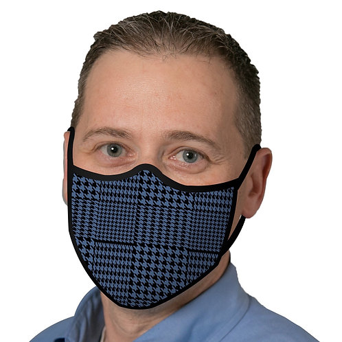 Face Mask by Rain Capers - Blue Glen Plaid