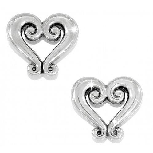 Brighton Genoa Heart Mini Post Earrings
