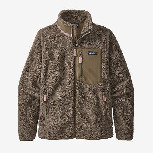 Patagonia - W's Classic Retro-X Fleece in Furry Taupe