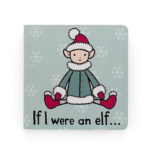Jellycat Board Book - If I Were An Elf