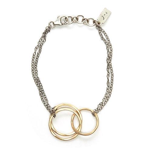 Interlocking Rings Bracelet