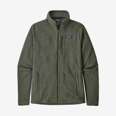 Patagonia - M's Better Sweater Jacket in Industrial Green