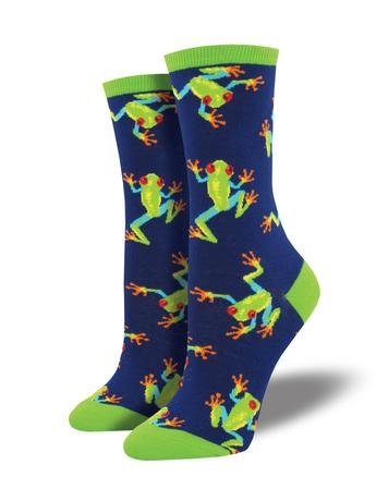Womens Socks - Tree Frog