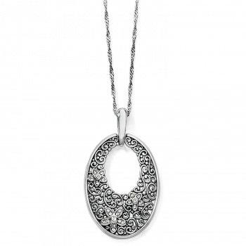 Brighton Baroness Fiori Oval Short Necklace