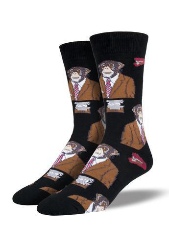 Mens Socks - Monkey Biz