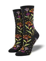 Womens Socks - Wildflowers