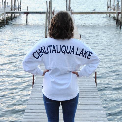Classic Chautauqua Lake Spirit Jersey in White