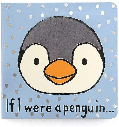 Jellycat Board Book - If I Were A Penguin