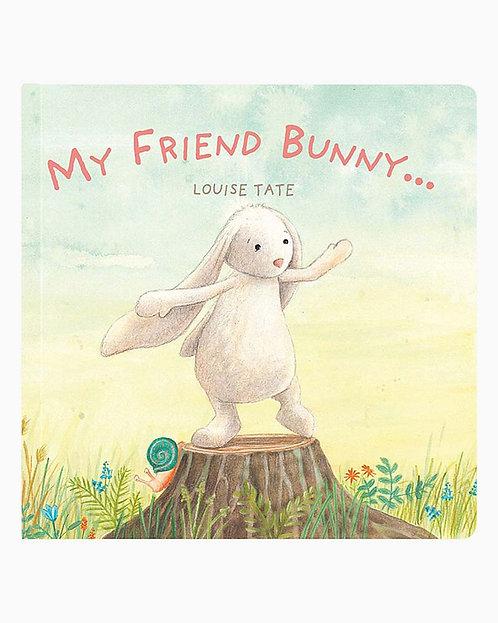 Jellycat Book - My Friend Bunny