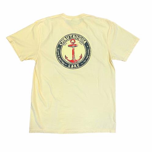 Chautauqua Lake Short Sleeve T-Shirt: Big Red Anchor