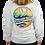 Thumbnail: Chautauqua Lake Long Sleeve T-Shirt: Mojave Wave in White