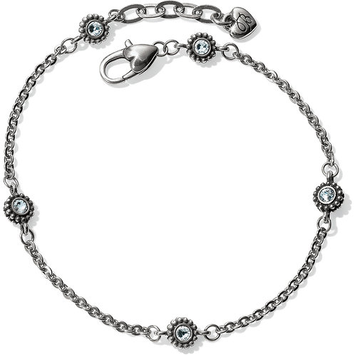 Brighton Twinkle Anklet in Silver