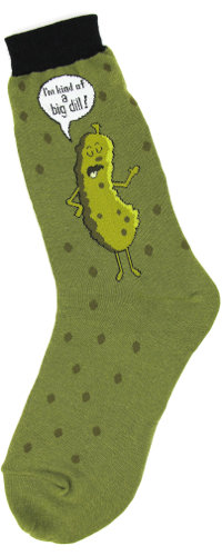 Mens Socks - I'm Kind of a Big Dill