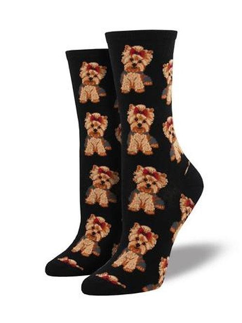 Womens Socks - Yorkies