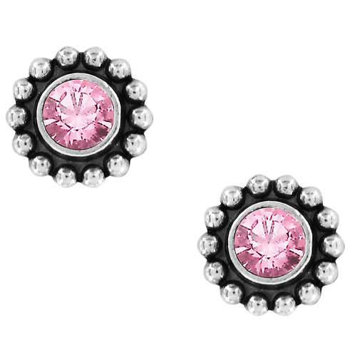 Brighton Twinkle Mini Post Earrings in Rose