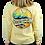 Thumbnail: Chautauqua Lake Long Sleeve T-Shirt: Mojave Wave in Butter