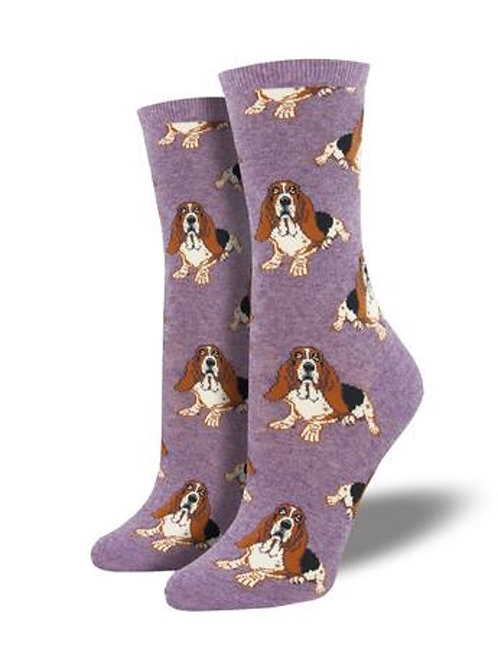Womens Socks - Nothing But a Hound Dog
