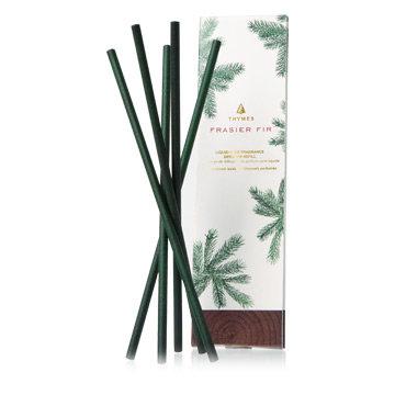 Thymes Frasier Fir - Liquidless Diffuser Sticks in Green