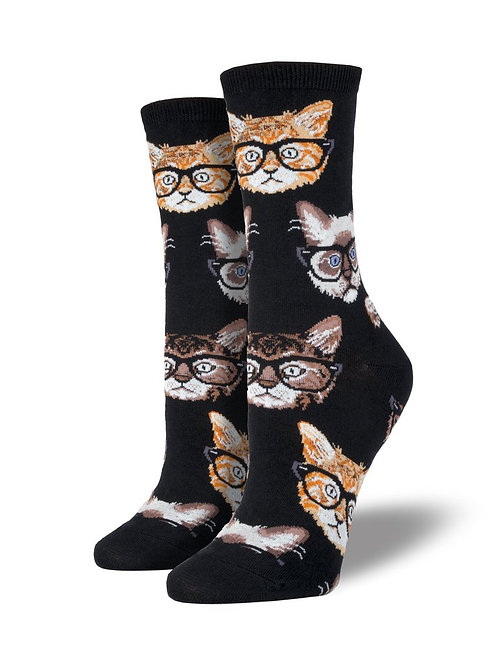 Womens Socks - Kittenster