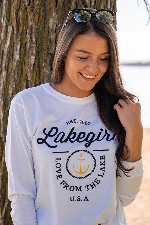 Lakegirl Jerrod Anchor Long Sleeve Tee