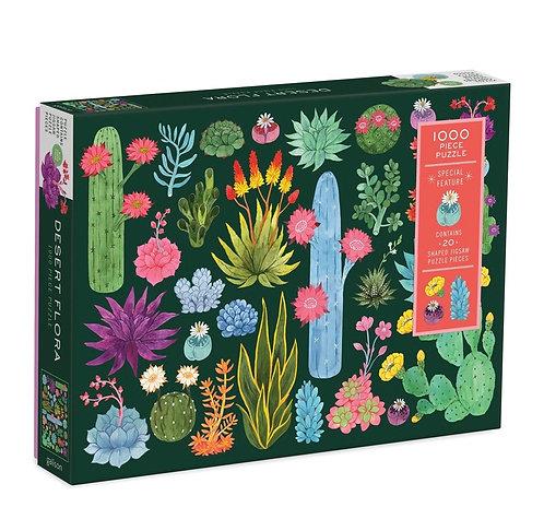 1000 Piece Puzzle - Desert Flora