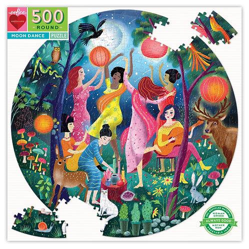 500 Piece Round Puzzle - Moon Dance