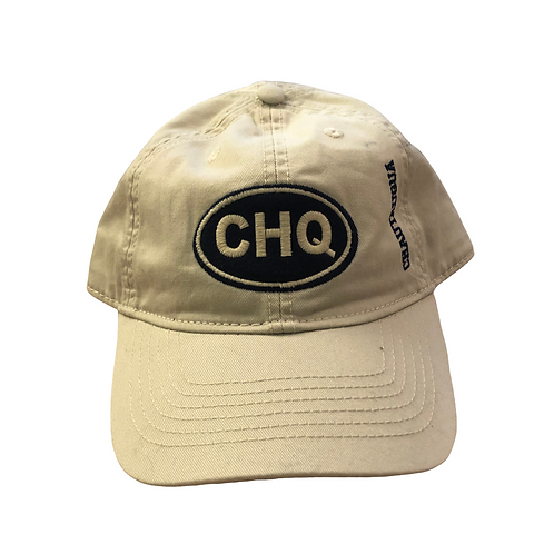 Chautauqua Lake Baseball Hat - Oval Patch in Sand