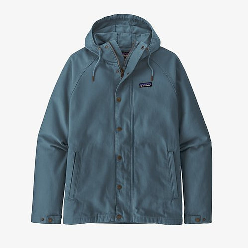 Patagonia - M's Organic Cotton Canvas Jacket in Pigeon Blue