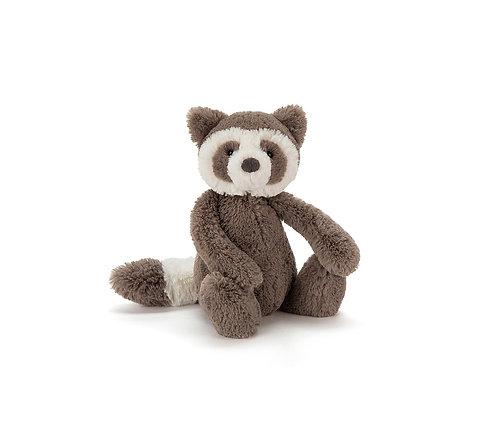 """Jellycat Bashful Raccoon - 7"""""""