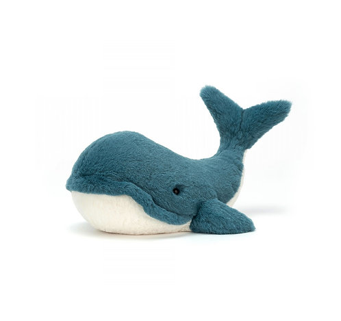"Jellycat Wally Whale - 6"""
