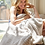 Thumbnail: Barefoot Dreams Cozychic Throw Blanket in Stone